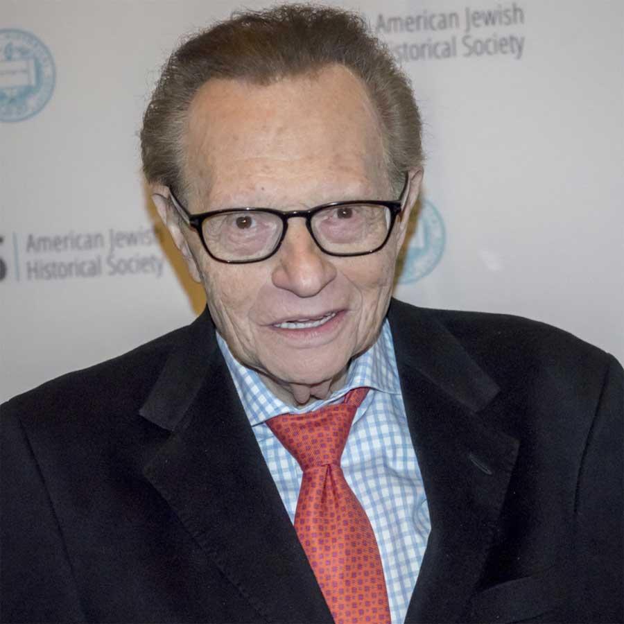 headshot of Larry King